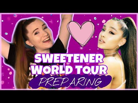Preparing For The SWEETENER WORLD TOUR | Sara Harlee