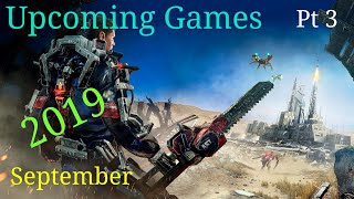 Top 5 Upcoming Games September 2019 [Pc - Xbox One - Ps4 - Switch] {Part 3}