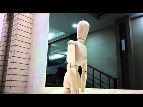 SISA Stop Motion with Wooden Figure