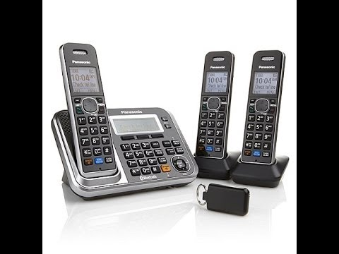 Panasonic DECT 6 PLUS Link2Cell Cordless Phone 3pk