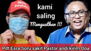 Pdt Esra Soru sakit Pastor_andi_simon mengirimkan Doa !! Segera pulih seutuhnya ya Pak, Solafide !!!
