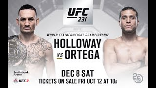 UFC 231 Breakdown Full Fight Card - Full HD
