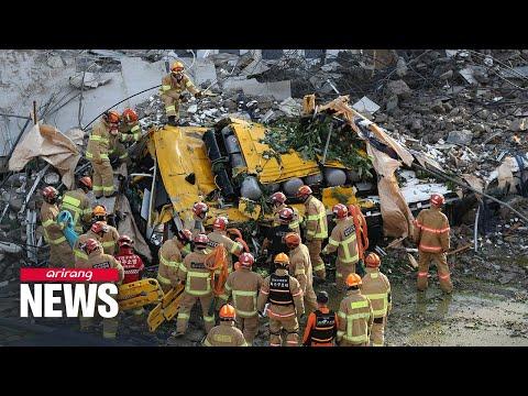 Building collapse in Gwangju leaves nine people dead, 17 more injured