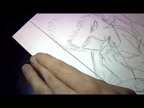 Yusuke Murata - Live drawing #40 Pencilling Manga Pages