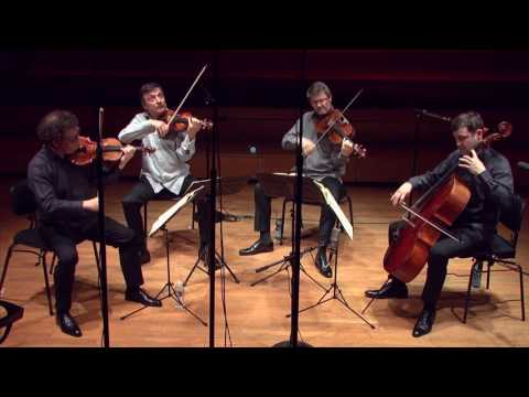 Beethoven : Quatuor à cordes n° 5 en la majeur par le Quatuor Debussy