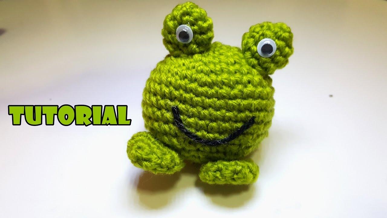 Tutorial Rana Amigurumi Alluncinetto Crochet Frog Facile Easy