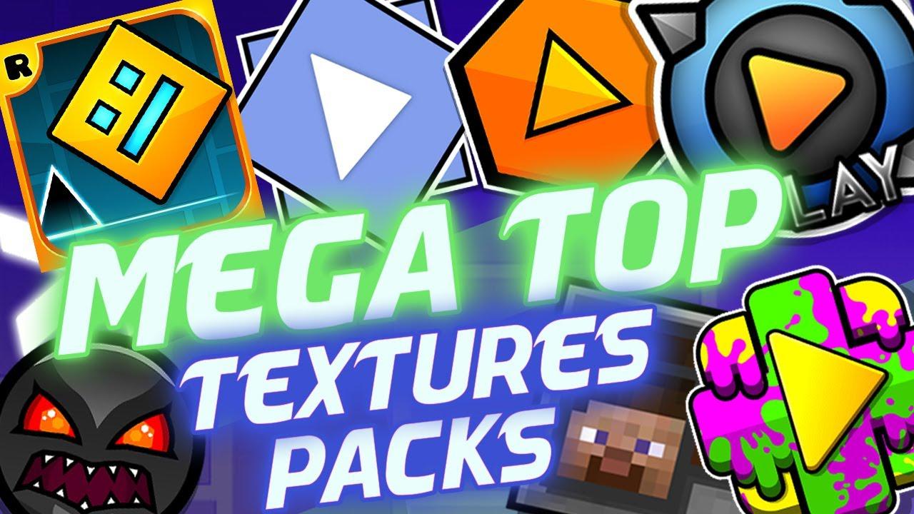NUEVO! Mega Top 25 Textures Packs  Para Geometry Dash 2.11 - #2 | Raxter