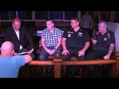 LIVE Fans Forum from Wolverhampton! Featuring Phil Taylor, Dave Chisnall and Scott Mitchell!