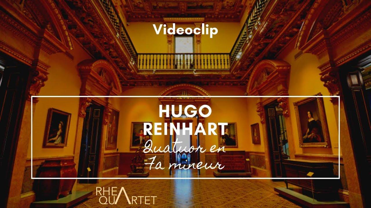 Quatuor en Fa mineur - Hugo Reinhart