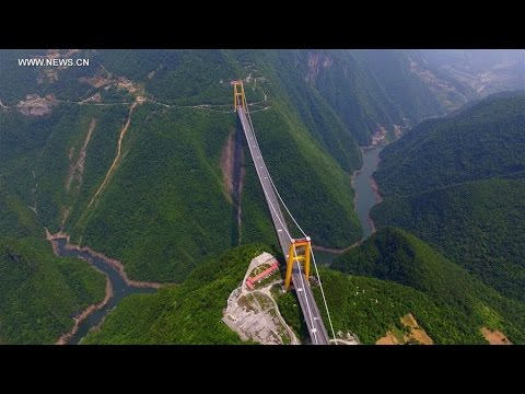Sidu River Bridge Fly cam