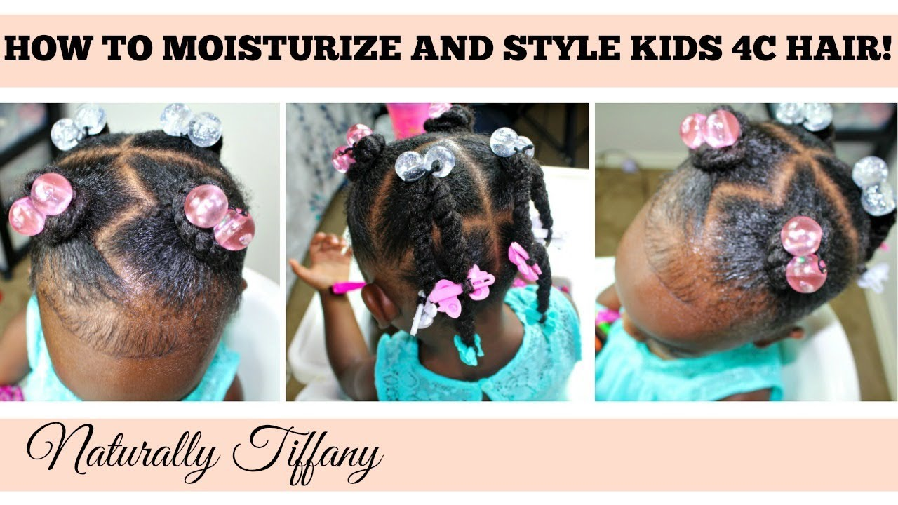 How To Style Moisturize Kids Dry 4c Hair Kids Natural Hair Care