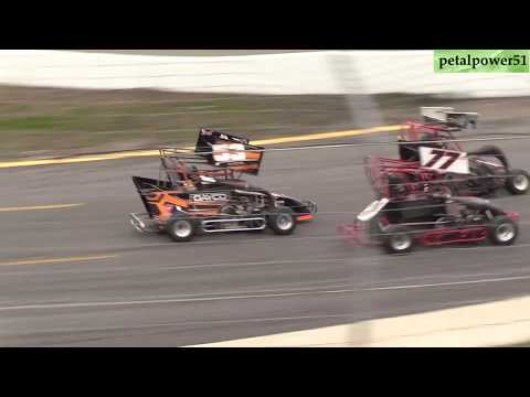 Sunset Speedway, Pro Sprints, May 19, 2019