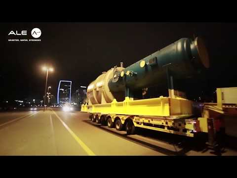 ADDrives transportation of refinery items in Baku, Azerbaijan