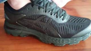 Asics Kayano 25 Review First Opinions Beautiful BLACK Runningshoes!