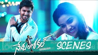 Nenu local movie - love acceptance scene - nani, keerthy suresh