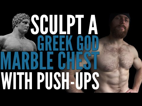 How to Build a Wide rugged chest with Push ups