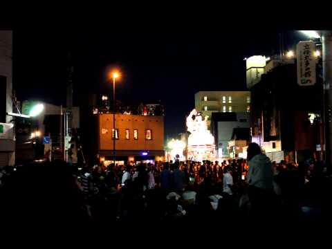 Goshogawara city Tachi Neputa festival, Aomori Prefecture, Japan (August 2012)