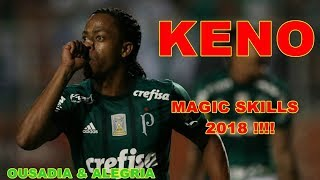 KENO DO PALMEIRAS - LANCES E GOLS 2018 (MAGIC SKILLS) (OUSADIA & AL...