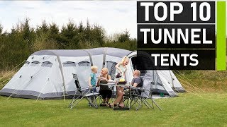 Top 10 Best Large Tunnel Tents for Family Camping