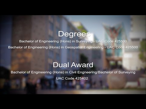 Surveying degrees at UNSW – top career choice