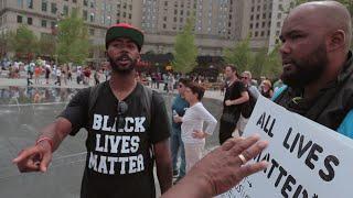 BLACK TRUMP SUPPORTER VS BLACK LIVES MATTER 'Don't Short Change Your Part'