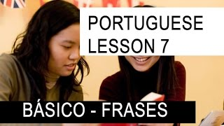 Brazilian Portuguese #7 BASIC greetings and presen