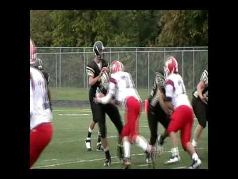 Blue Valley High School JV football vs. Bishop Miege - Kyle Zimmerman hilite