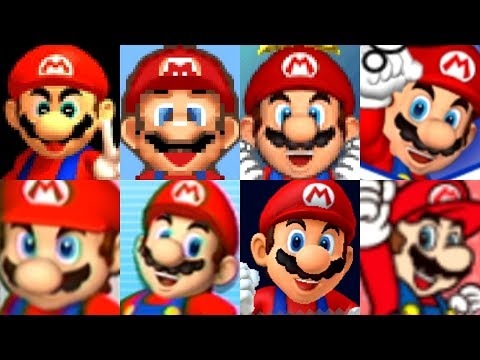 Evolution of All Characters in Mario Party (1998 - 2017)