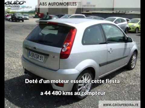 Ford fiesta occasion visible à Bretigny sur orge présentée par Abs automobile