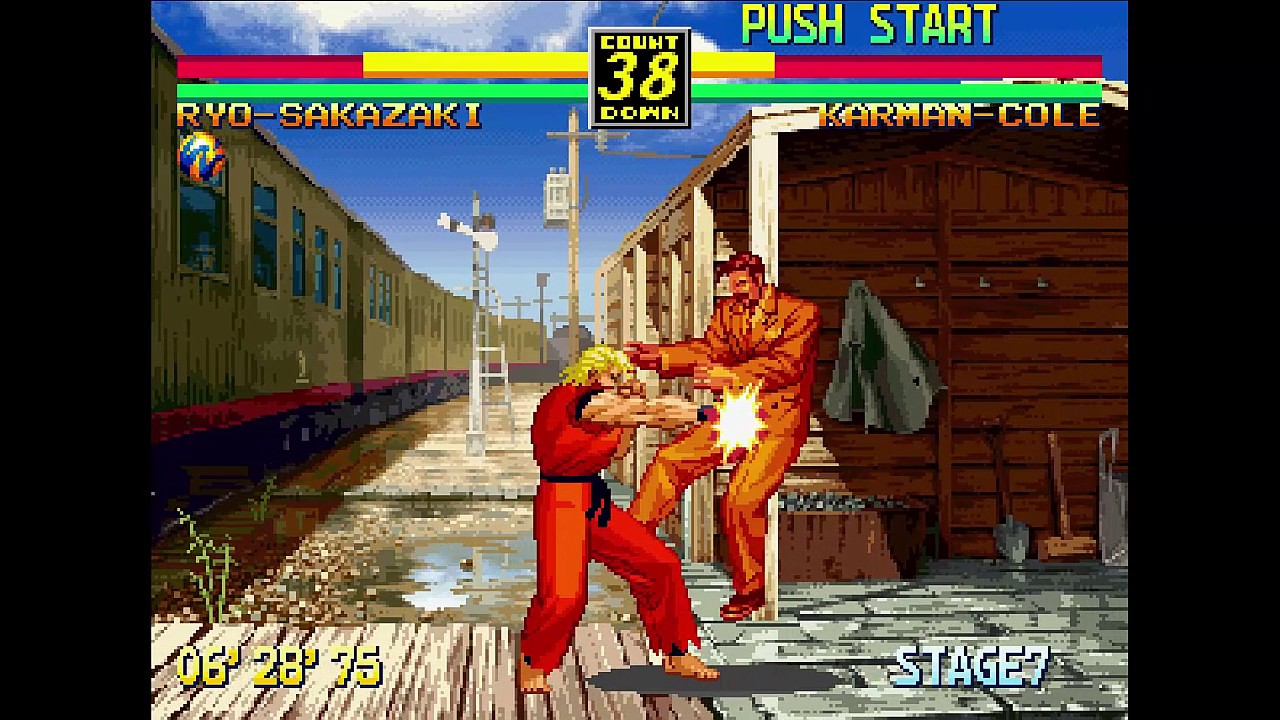 Art Of Fighting 3 Neo Geo Cd Walkthrough Gameplay Youtube