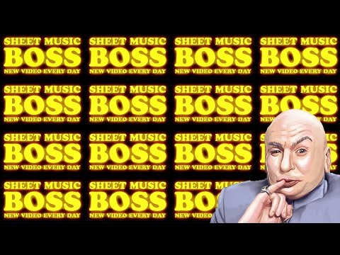 Sheet Music Boss theme played 1 BILLION times