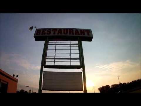 Exploring Gary,Indiana - Dunes Restaurant - Disintegrating & Battered