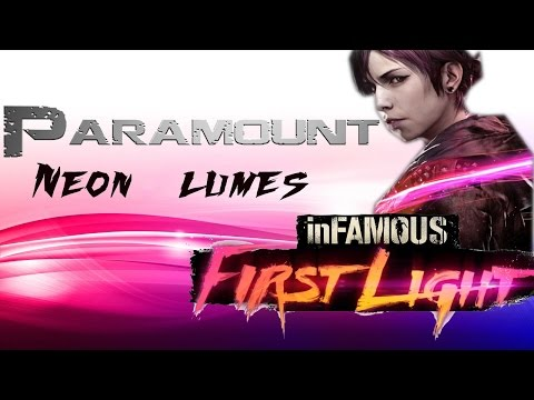 InFamous First Light How to get All Paramount Neon Lumes