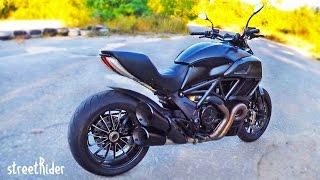 Первая поездка на Ducati Diavel | Тест-драйв и впечатления от мотоцикла