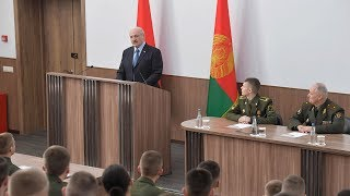 Откровенный разговор Президента с курсантами Военной академии. Все подробности