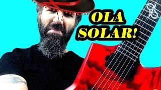 BEST GUITAR for METAL. SOLAR Guitars E2.6 TBR. DEMO! OILID