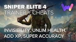 Sniper Elite 4 Trainer +7 Cheats