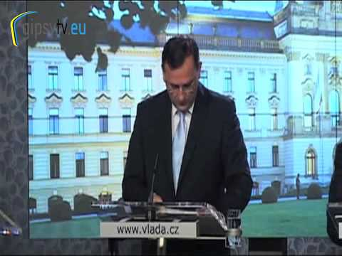 GIPSY TELEVISION - Roma Strategy 2011-2012 / Czech Republic, Prime Minister Petr Necas