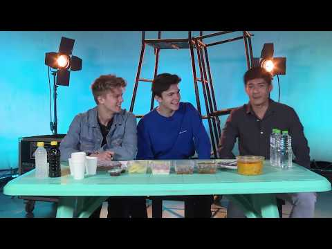 NEW HOPE CLUB Tries Out Filipino Food | MYX Live Chat