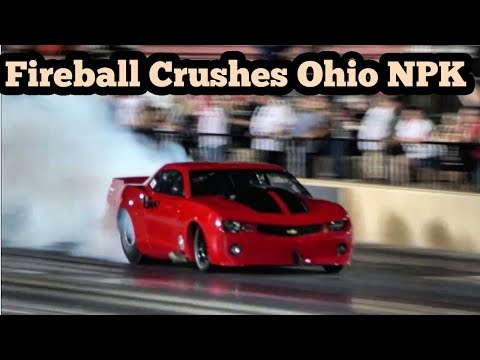 Street Outlaws Fireball Torches the Competition at Ohio No Prep Kings