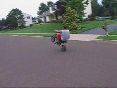 Sdg Mini Wheelie Youtube