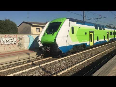 Caravaggio Trenord Sull'S9 A Ceriano Laghetto - Solaro [treno Speciale Per Riprese Cinematografiche]