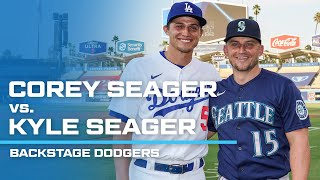 Corey Seager vs. Kyle Seager - Backstage Dodgers Season 7 (2020)