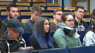 Der Ereignisbericht - Journalismus-Vorlesung von Prof. Stefan Korol