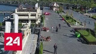 В Казани строят самую большую набережную в Поволжье - Россия 24