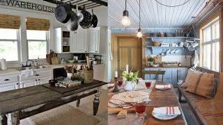Cozy And Chic Farmhouse Kitchen Décor Ideas