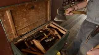 Woodworking Tour: 1820s Tool Chest at the Frontier Culture Museum