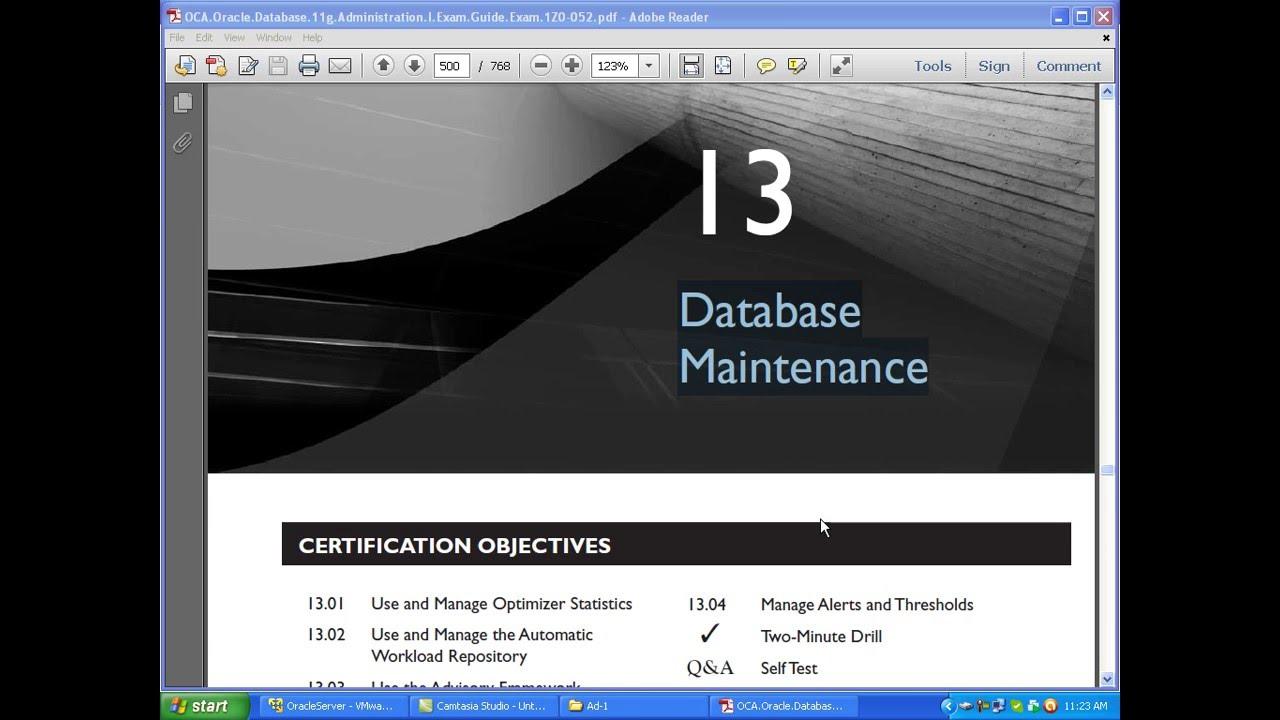 Oracle 11g dba tutorial pdf choice image any tutorial examples oracle 11g dba bangla tutorial ch13 database maintenance oracle 11g dba bangla tutorial ch13 database maintenance baditri Choice Image