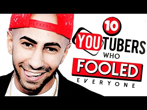 Thumbnail: 10 Fake YouTubers Who Fooled Everyone
