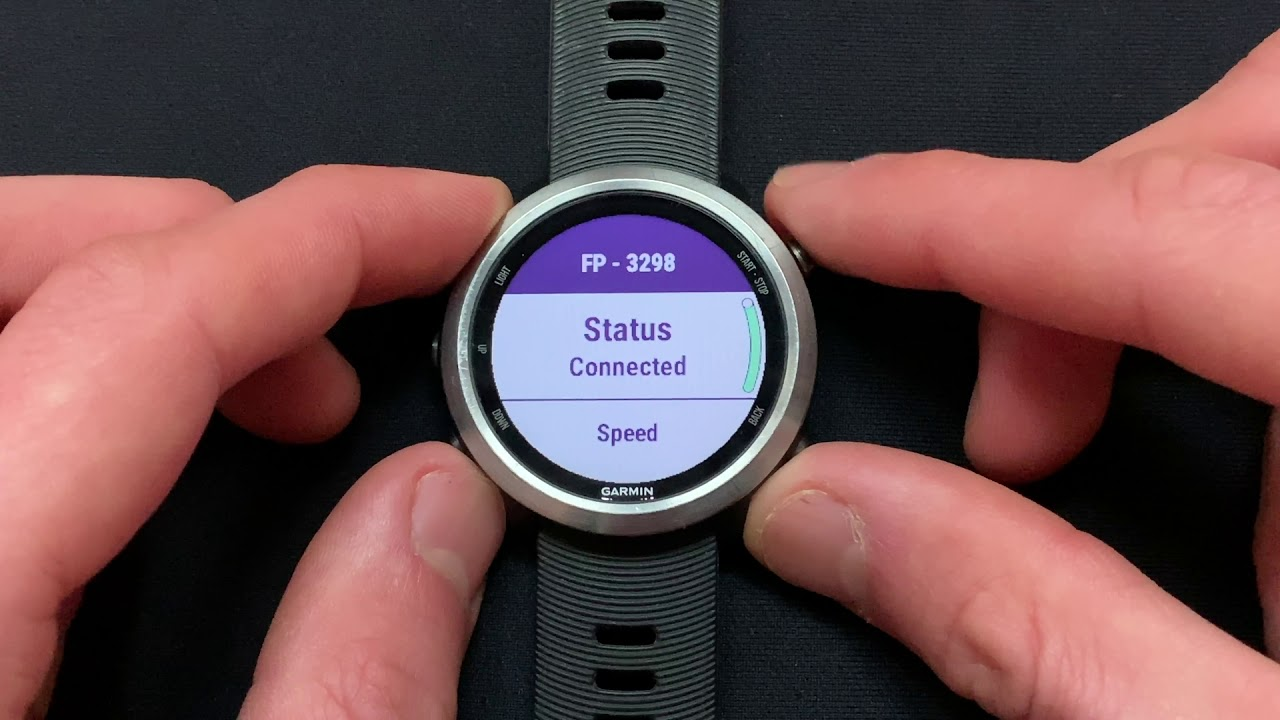 Garmin Forerunner 645/M: Add Stryd as a Foot Pod and Configure for Pace and  Distance From Stryd